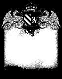 ornate heraldic frame
