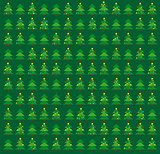 Green Christmas wrapping