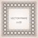 Intricate vector frame