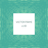 Vector frame with a texture of water