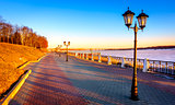 Riverwalk along the Volga