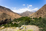 the  atlas mountains in morocco