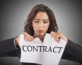Tear the contract