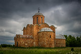 Ancient gothic church