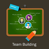 team work building human resource recruitment