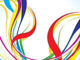 abstract colorful line background