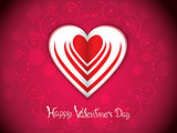 abstract artistic red valentine background