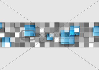 Abstract geometric corporate background