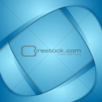 Bright corporate wavy background
