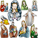 Virgin Mary Set