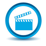 Blue film icon
