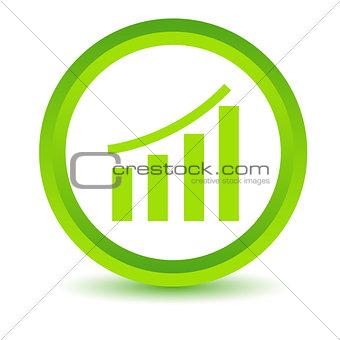 Green chart icon