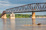 Mississippi RIver bridged