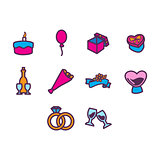 Anniversary Icon Set
