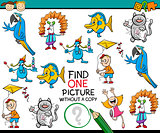 find one picture game for kids