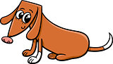 female dog cartoon illustration