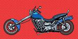 Vintage motorcycle bike