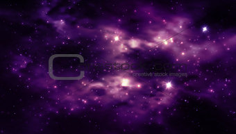 Abstract Space background for design.  illustration.