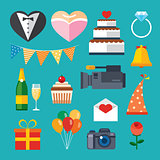 wedding flat icon