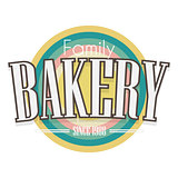 Bakery Label. Vector design.