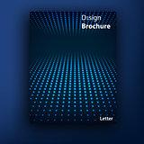Vector brochure  booklet cover design templates collection A4