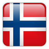 Norway Flag Smartphone Application Square Buttons