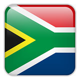 South Africa Flag Smartphone Application Square Buttons