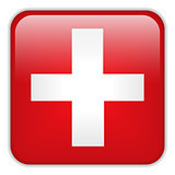 Switzerland Flag Smartphone Application Square Buttons