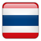 Thailand Flag Smartphone Application Square Buttons