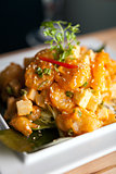 Crispy Thai Shrimp Dish
