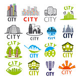 biggest collection of vector city logo