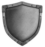 metal medieval shield