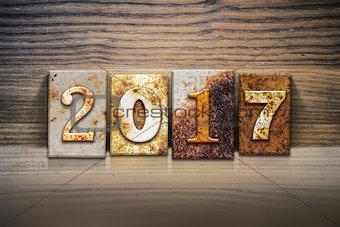2017 Concept Letterpress Theme