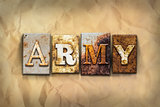 Army Concept Rusted Metal Type