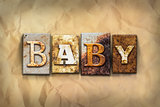 Baby Concept Rusted Metal Type