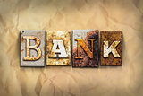 Bank Concept Rusted Metal Type