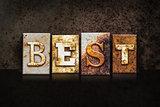 Best Letterpress Concept on Dark Background