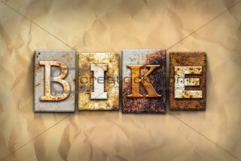 Bike Concept Rusted Metal Type