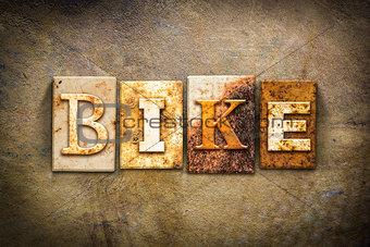Bike Concept Letterpress Leather Theme