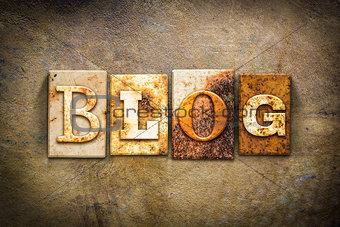 Blog Concept Letterpress Leather Theme