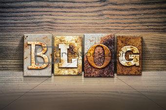 Blog Concept Letterpress Theme