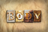 Body Concept Rusted Metal Type