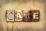 Care Concept Rusted Metal Type