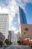 Downtown of Los Angeles, California USA