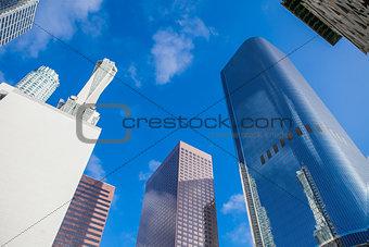 Skyscrapers in downtown LA, Los Angeles