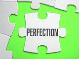 Perfection - Jigsaw Puzzle with Missing Pieces.
