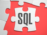 SQL - Puzzle on the Place of Missing Pieces.