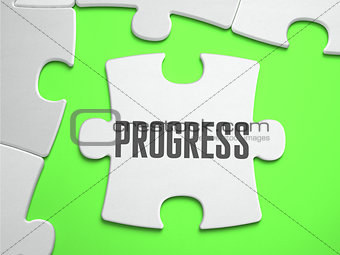 PROGRESS - Jigsaw Puzzle with Missing Pieces.
