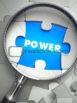 Power through Lens on Missing Puzzle.