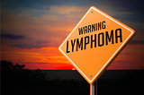 Lymphoma on Warning Road Sign.